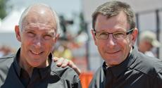 Phil Liggett and Paul Sherwen